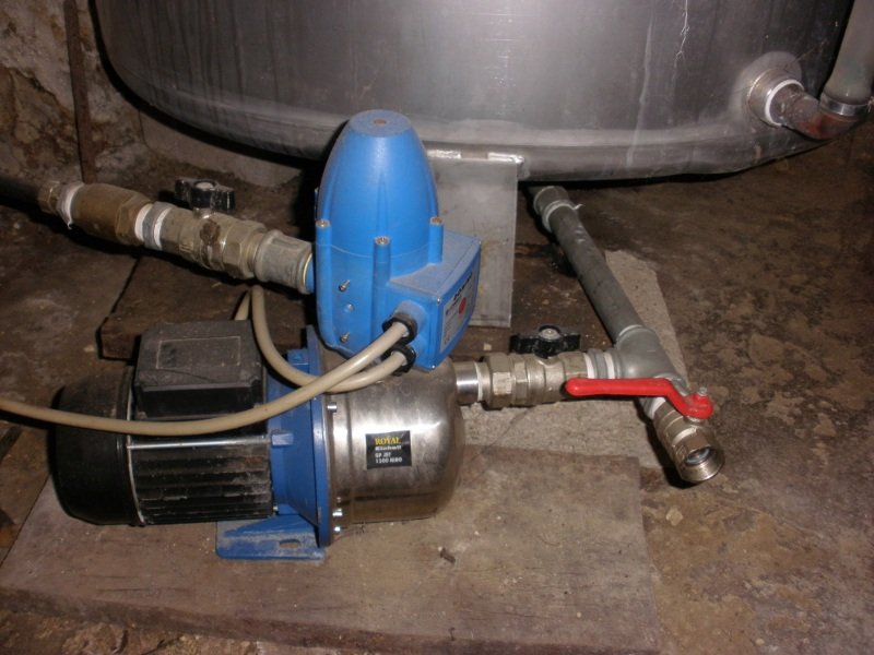 L 39 impianto dell 39 acqua di casa mia fai da te offgrid - Giusta pressione dell acqua in casa ...