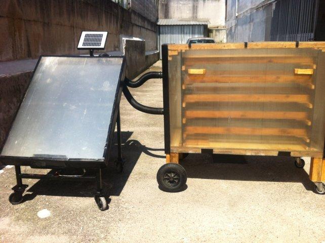 Bellissimo essicatoio artigianale page 2 fai da te for Essiccatore solare fai da te