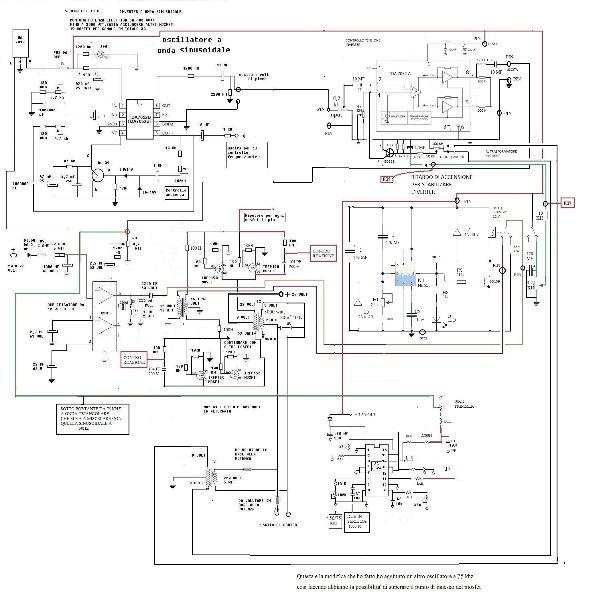 Schema Elettrico Inverter : Schema elettrico dell inverter a onda sinusoidale fai da